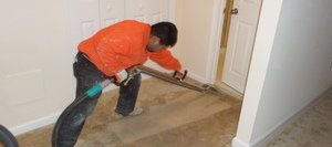 Cleaning Up Flooded Carpet